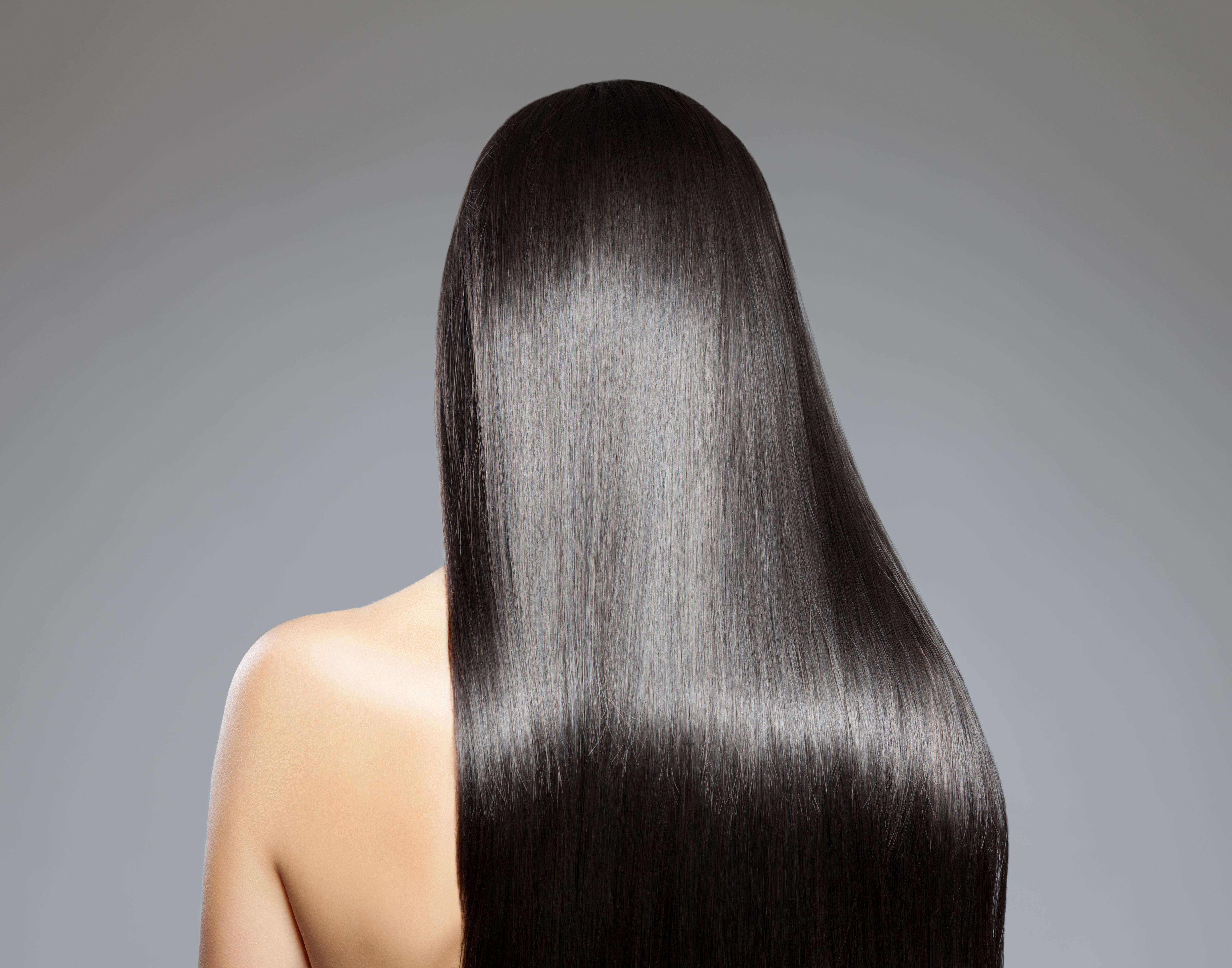Haare trocken glatten
